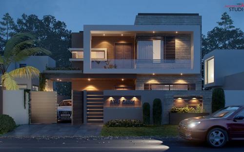 別墅設計圖結構圖展示