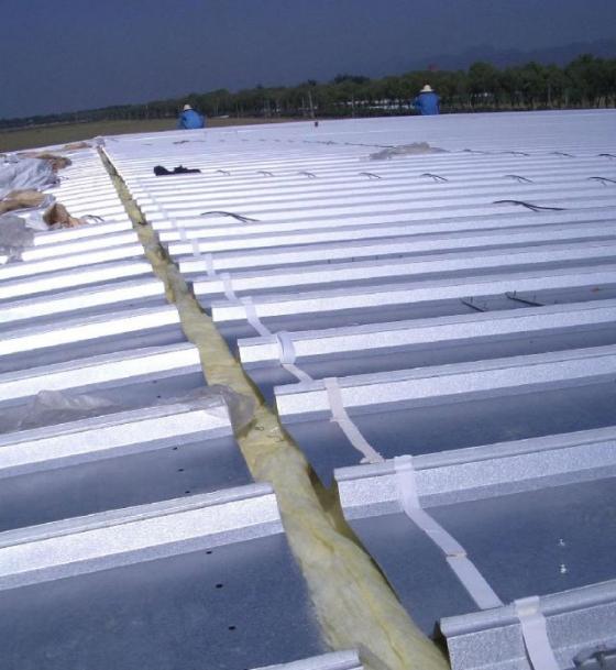 钢结构屋面板檐口