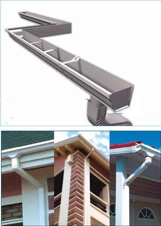 其次我们详细的了解一些复杂的边角包边及其作用: 1屋面系统包边脊瓦(尺寸:820型、840型、950型、980型、930型、1000型脊瓦;厚度:0.4mm-0.6mm) 所处位置:屋脊最高处,两屋面板搭接的地方。 作用:防止屋顶漏水。